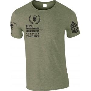 Camiseta Heroes Skull...